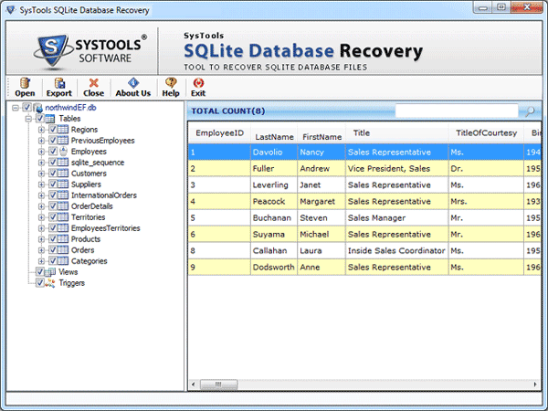 Free Sqlite Browser to View & Explore Sqlite Database