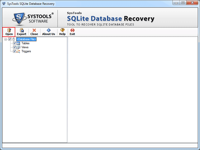 Sqlite Database Recovery Tool | Recover Sqlite File & it components